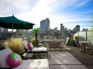 660 Sq Ft Private Rooftop Deck